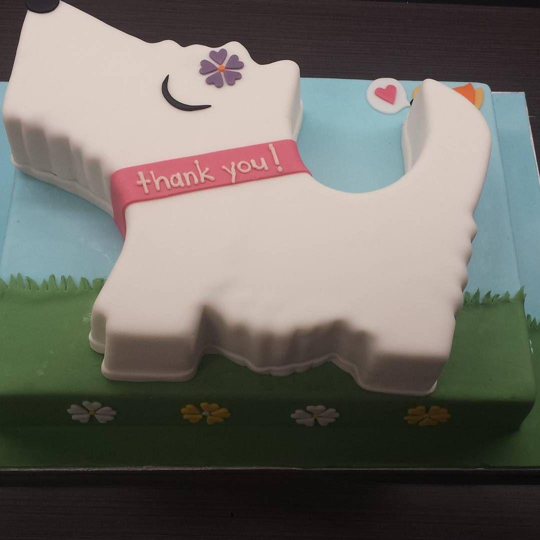 Scottie Dog Cake With Images Bakery Cafe Celebration Cakes