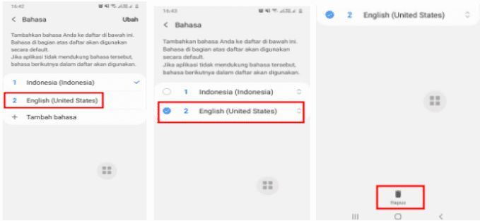 Cara Menghapus Bahasa Di Hp Samsung