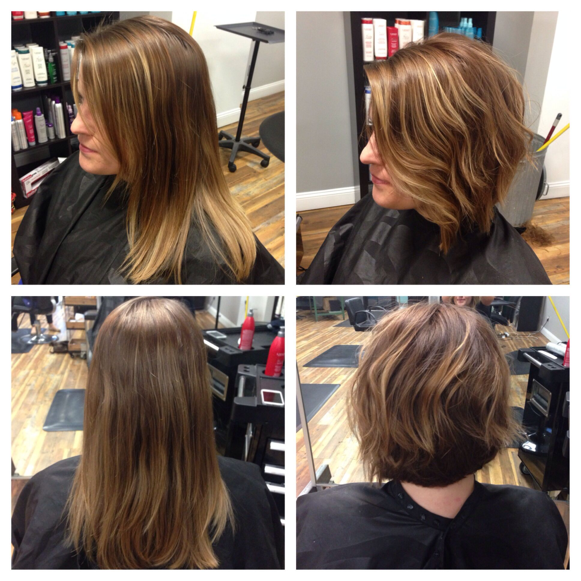 Before and after short hair balayage highlights before and after short hair balayage highlights lindseyfrosthair pmusecretfo Gallery