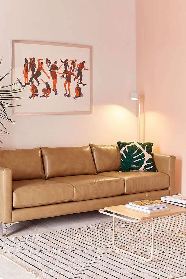 Chamberlin Recycled Leather Sofa Products Leather Sofa