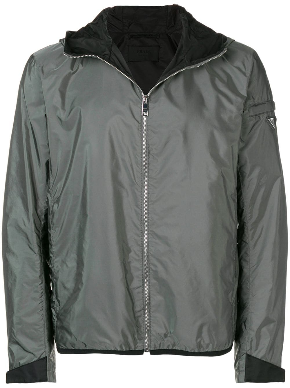 ed761d09 Prada shell bomber jacket - Grey in 2019 | Products | Jackets ...