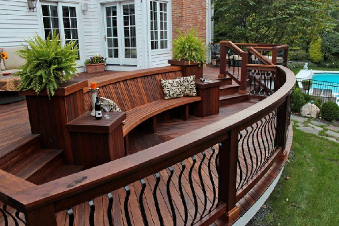 Beautiful Enjoy Your Outdoors More With A Beautiful Deck
