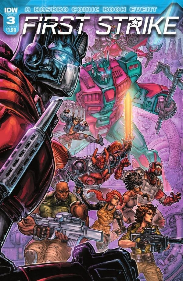 IDW's First Strike Issue 3 Full Comic Preview Comic