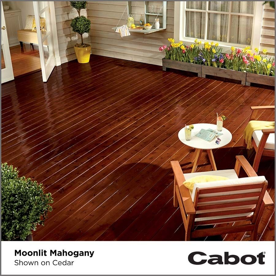 Https Www Lowes Com Pd Cabot Gold Moonlit Mahogany Transparent Exterior Stain Actual Net Contents 128 Fl Oz 100 Staining Deck Exterior Stain Mahogany Decking