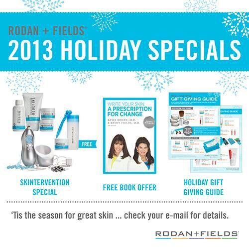 2013 Rodan+Fields 2013 Holiday Specuals https://vmadden.myrandf.com