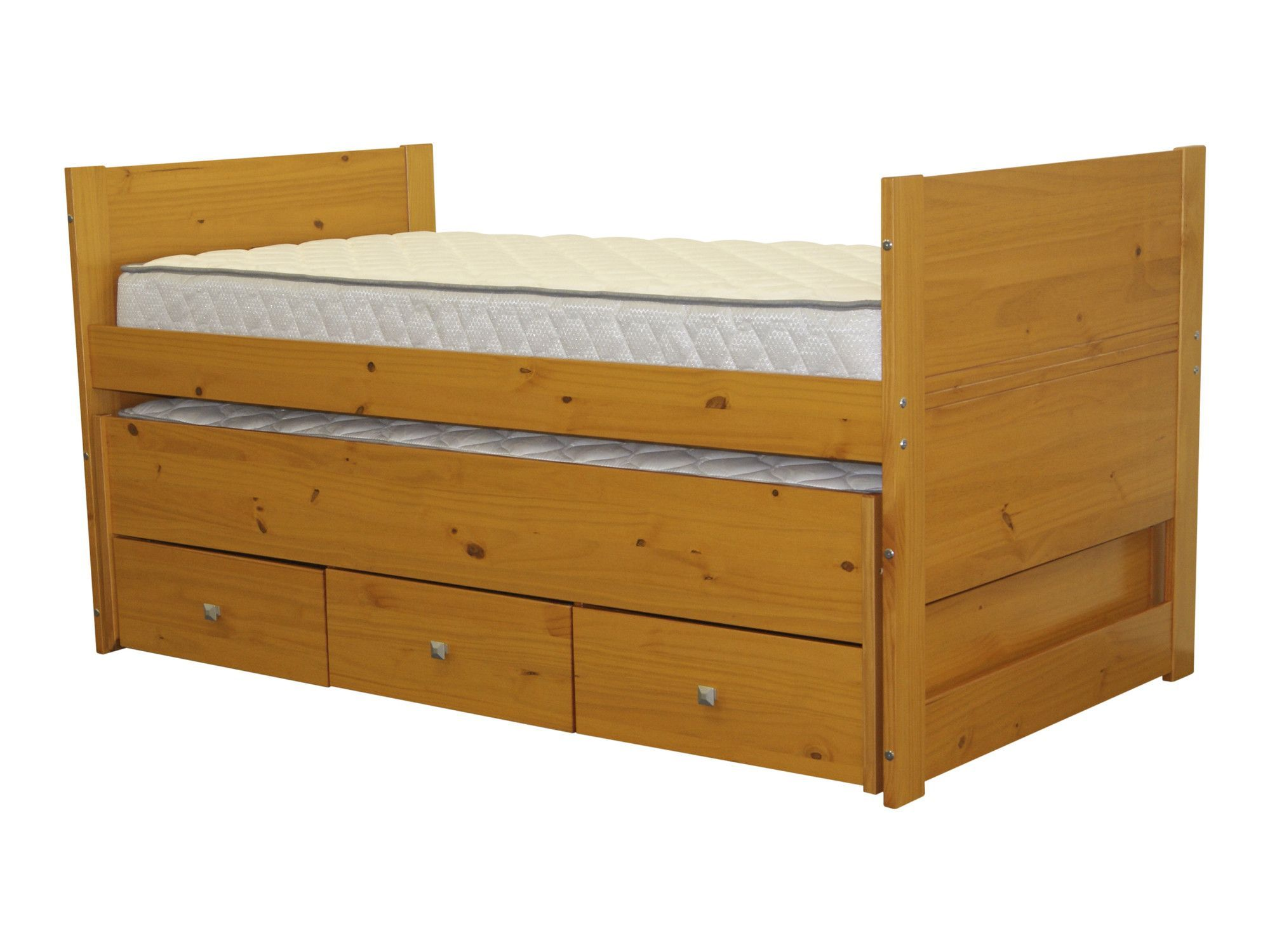 Loft captains bed twin  Twin Captain Bed with Trundle and Storage  Products  Pinterest
