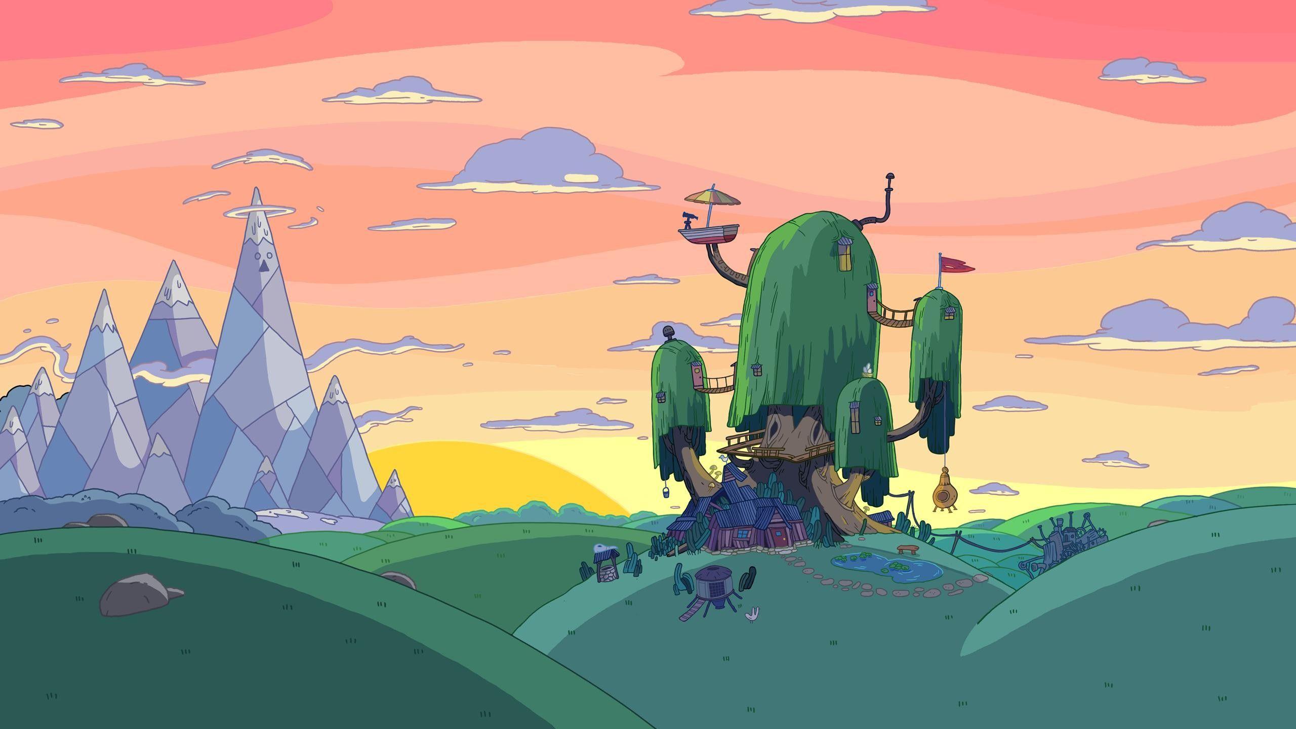 2560 x 1440 Wallpaper dump Adventure time wallpaper