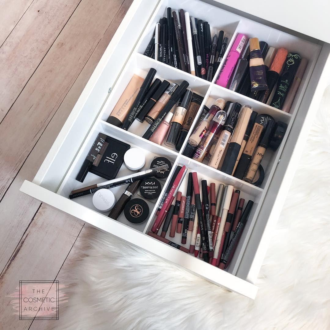 Fits Ikea Alex Units Allie Anything Drawer Organizer Makeup Organizer Makeup Storage Cosmetic Organiz Makeup Storage Makeup Storage Box Diy Makeup Storage