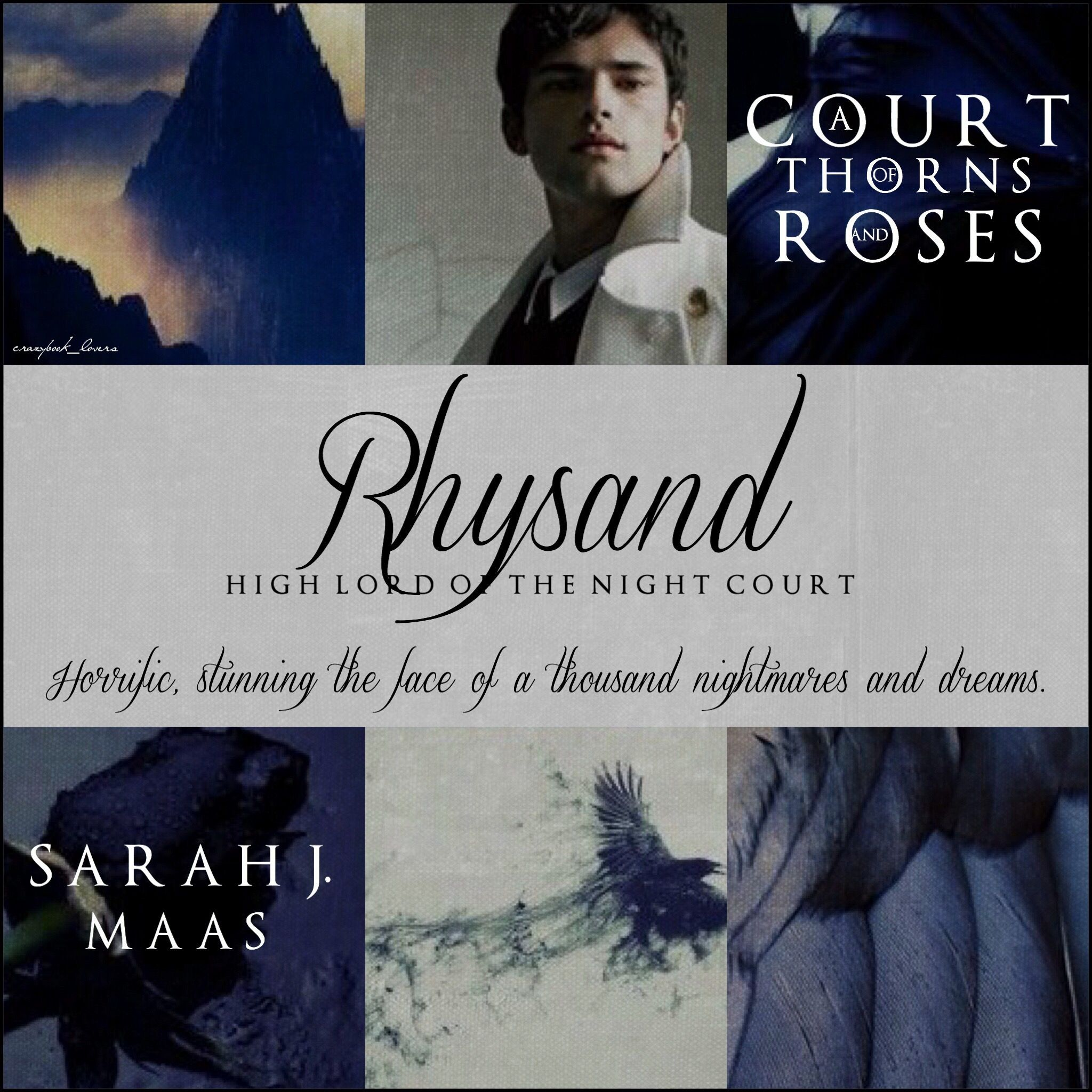 Rhysand A Court Of Thorns And Roses By Sarah J Maas Sarah J