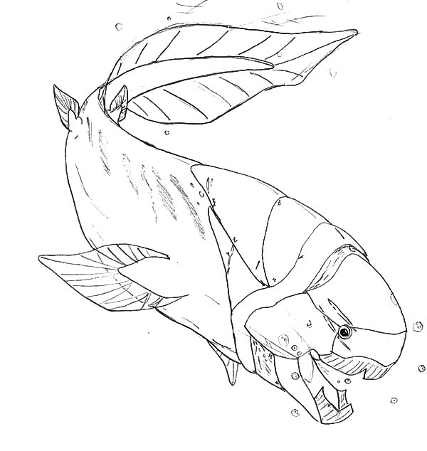 Prehistoric Monster Fish Coloring Pages Color Luna In 2020 Monster Coloring Pages Fish Coloring Page Cartoon Coloring Pages
