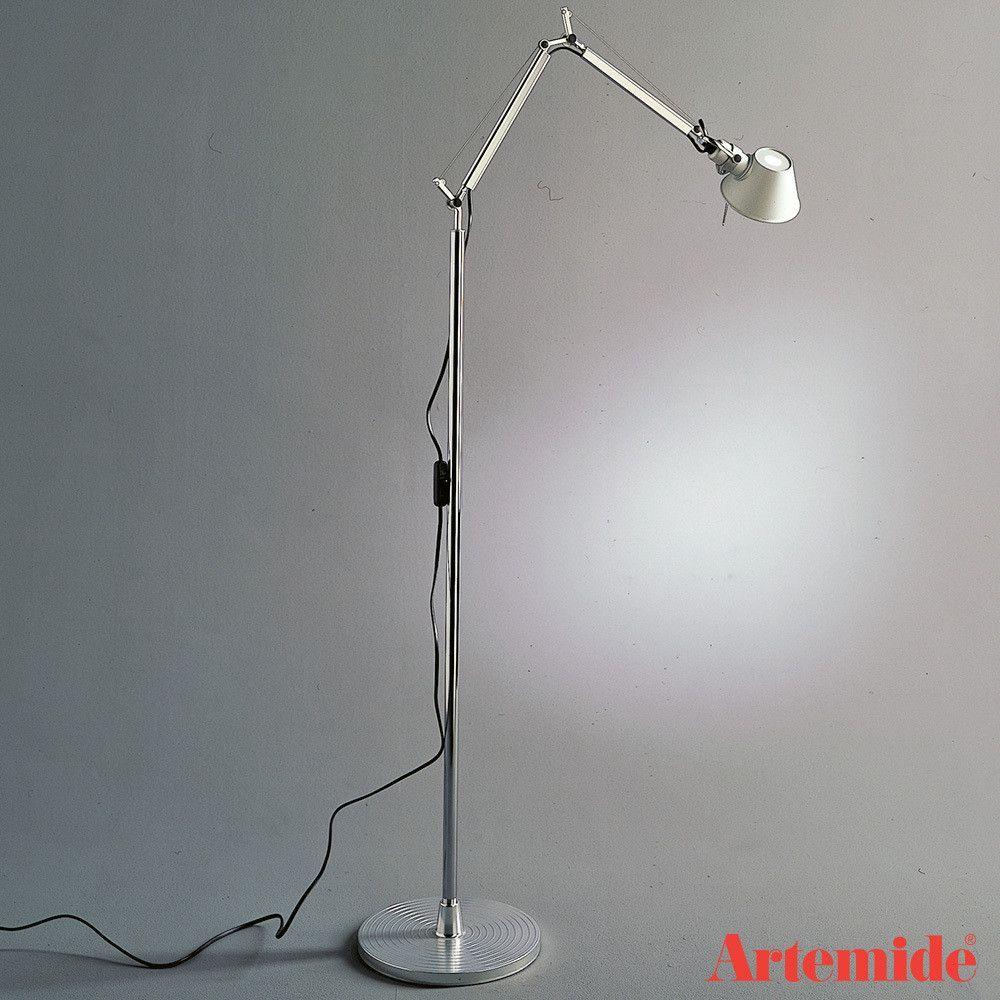 Tolomeo Micro Led Floor Lamp By Artemide Led Floor Lamp Floor Lamp Lamp