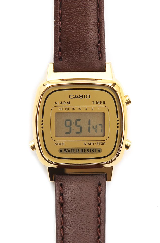 bracelet cuir montre casio