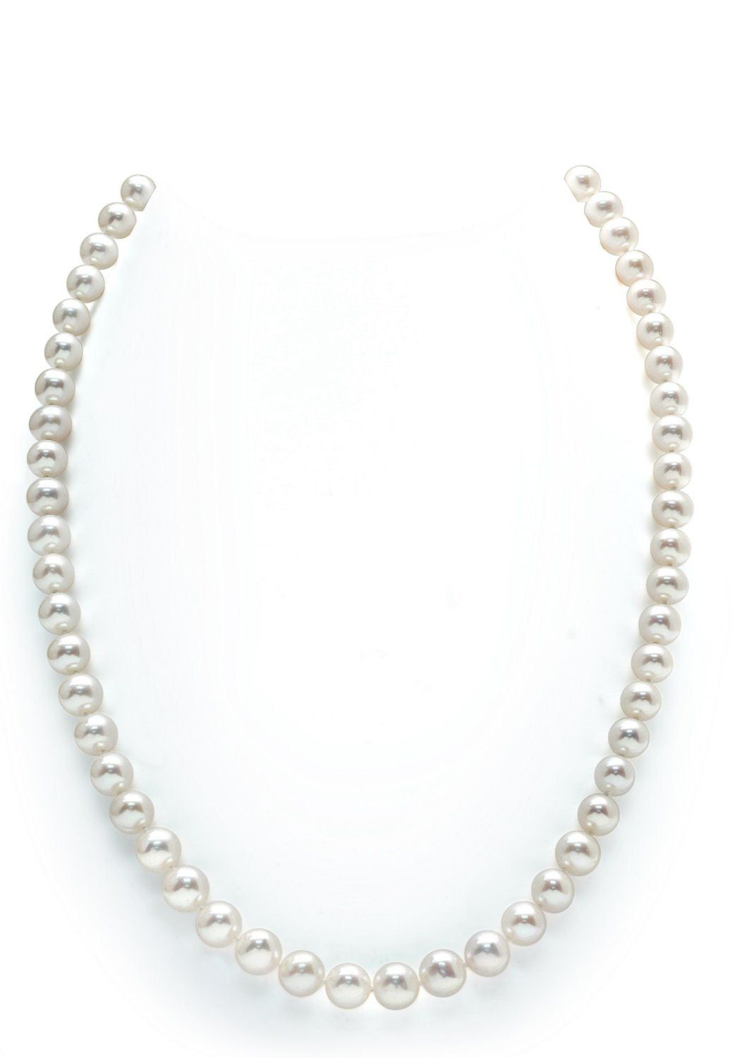 """Pretty 7-8mm Multicolor Freshwater Cultured Pearl Necklace 18/""""AAA"""