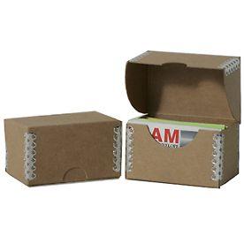 Brown Kraft Business Card Box Visitenkartenbox Box Laufwerk