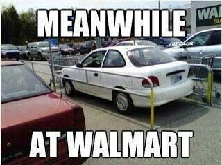 Only walmart.