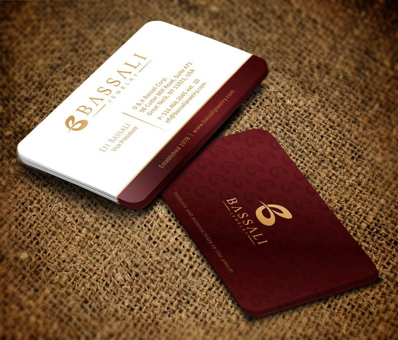 Luxurious, elegant and sophisticated business card and letterhead ...