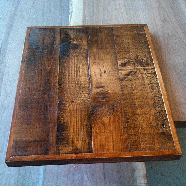 Superbe Custom Barn Board Restaurant Table Top By Barnboardstore.com   This Finish  Is Early American   We Can Ship These Anywhere   Contact Us Through The  Website