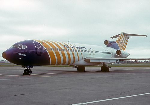 Air Columbus Boeing 727-2J4 'Silent 727' -by Irish251