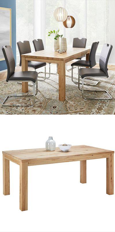ESSTISCH in Holz 160/90/75 cm Holzesstische, Tisch und