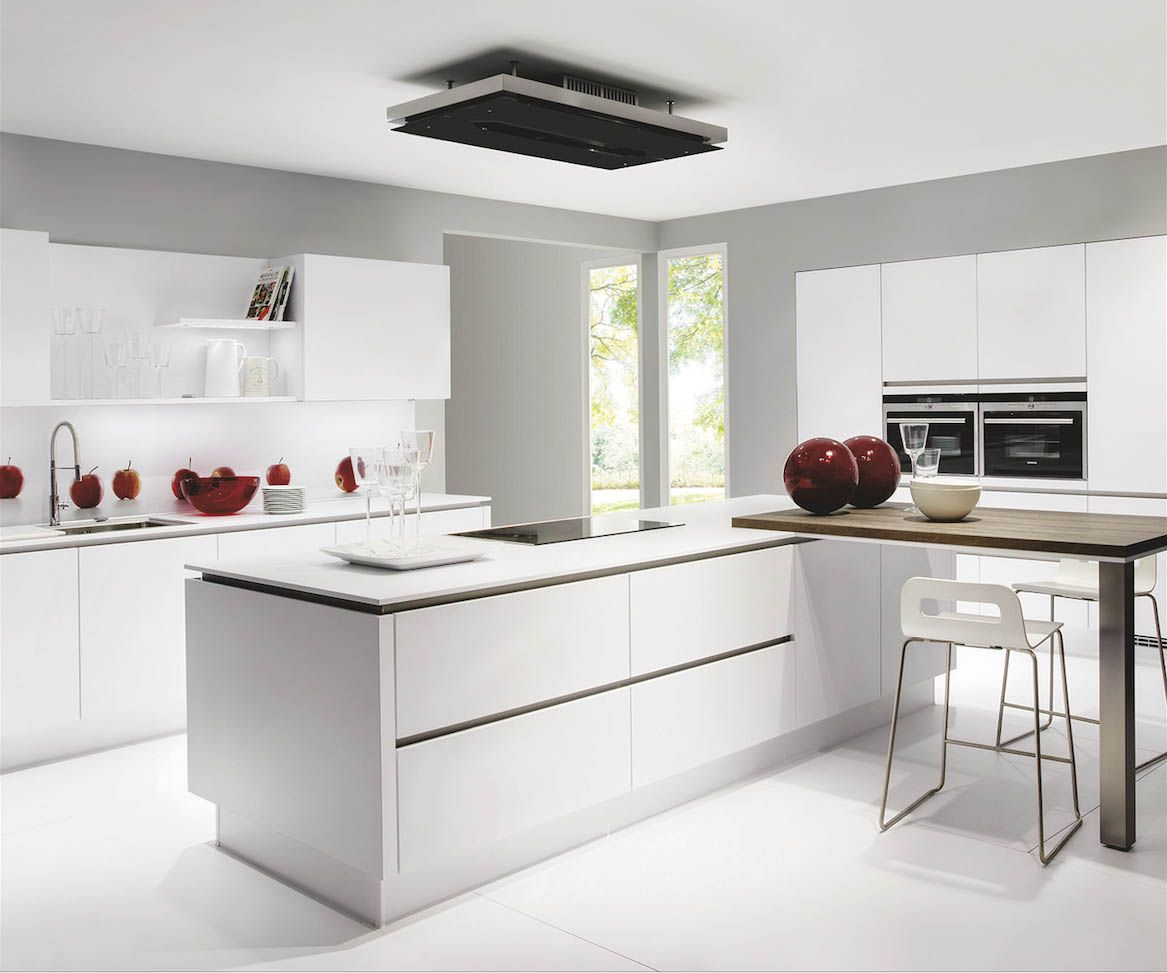 Spectacular LINE N The new LINE N handle less kitchens by Nobilia not only