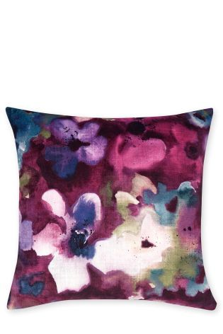 Buy Abstract Velvet Floral Cushion from the Next UK online shop ...