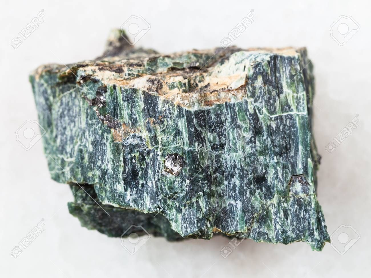 Macro Shooting Of Natural Mineral Rock Specimen Rough Chrysotile Rocks And Minerals Natural Minerals Minerals