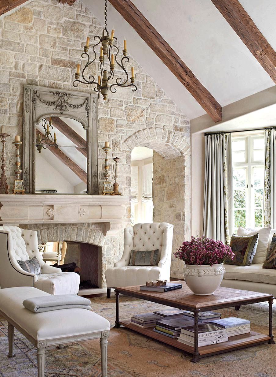 French Country Style Interior Design Homyracks