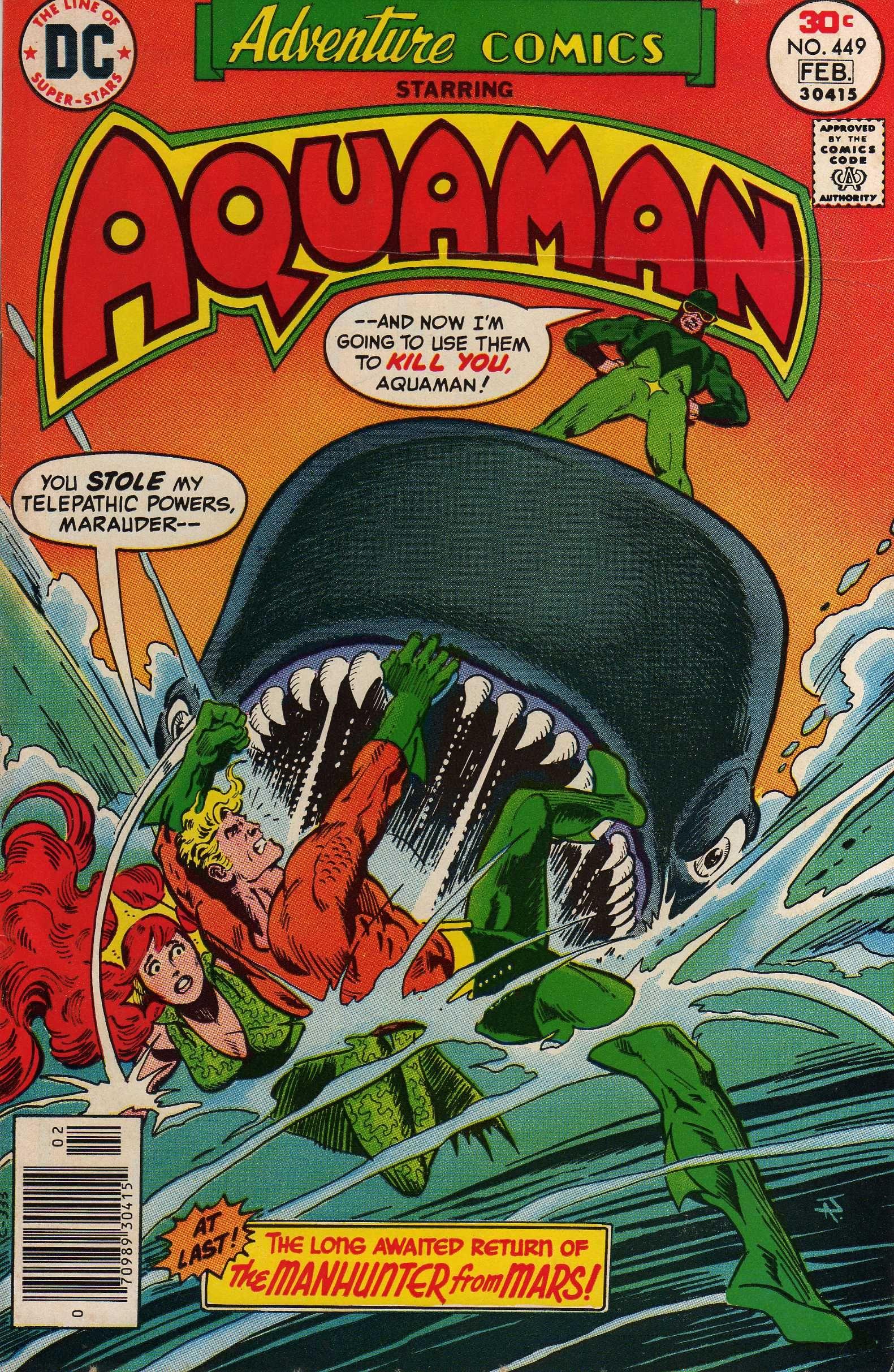Aquaman & Mera In Adventure Comics Vol 1 # 449