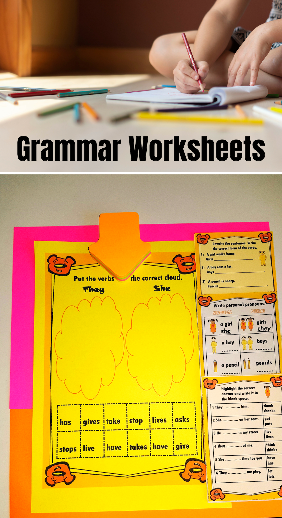 Subject Verb Agreement Worksheets Subject And Verb Subject Verb Agreement Activities Subject Verb Agreement [ 2112 x 1152 Pixel ]