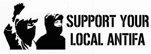 Afbeeldingsresultaat voor support your local antifa