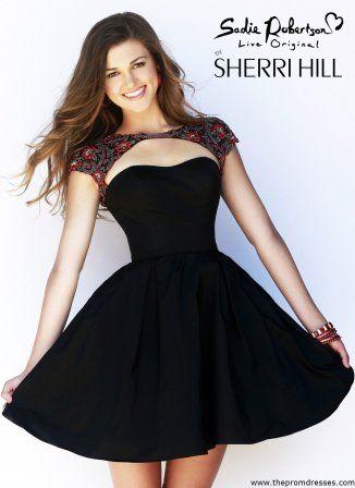 sherri hill homecoming dresse