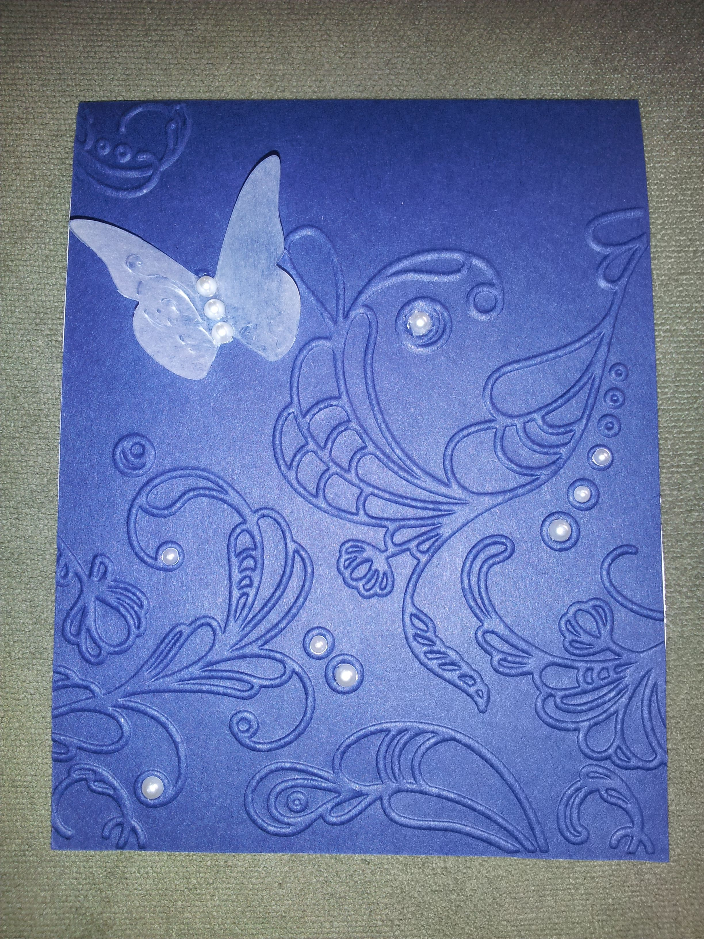 Wedding Invitations Navy Blue Butterfly cool christmas invitations