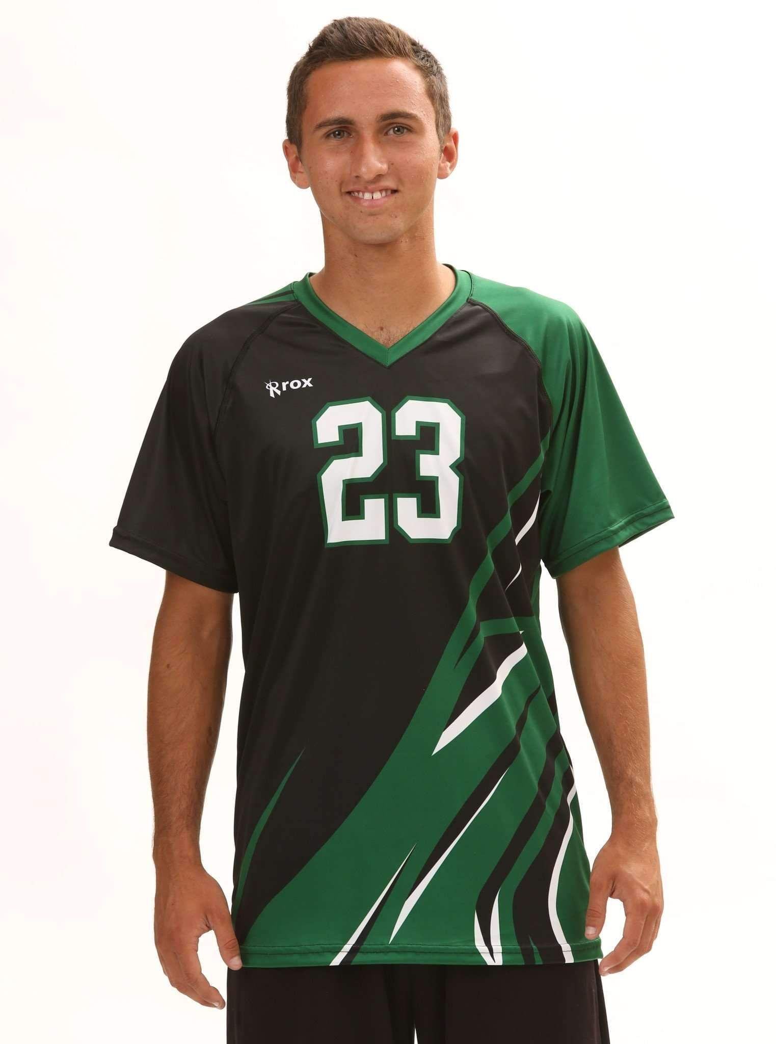 Quake Mens Sublimated Uniform Volleyball Uniforms Design Volleyball Uniforms Logo Number