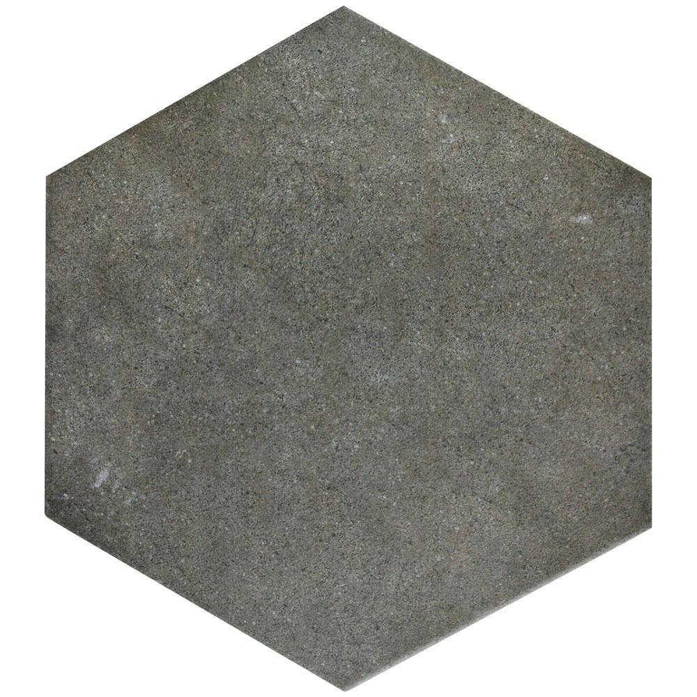 Merola tile vintage hex marengo 8 58 in x 9 78 in porcelain merola tile vintage hex marengo 8 58 in x 9 7 dailygadgetfo Image collections
