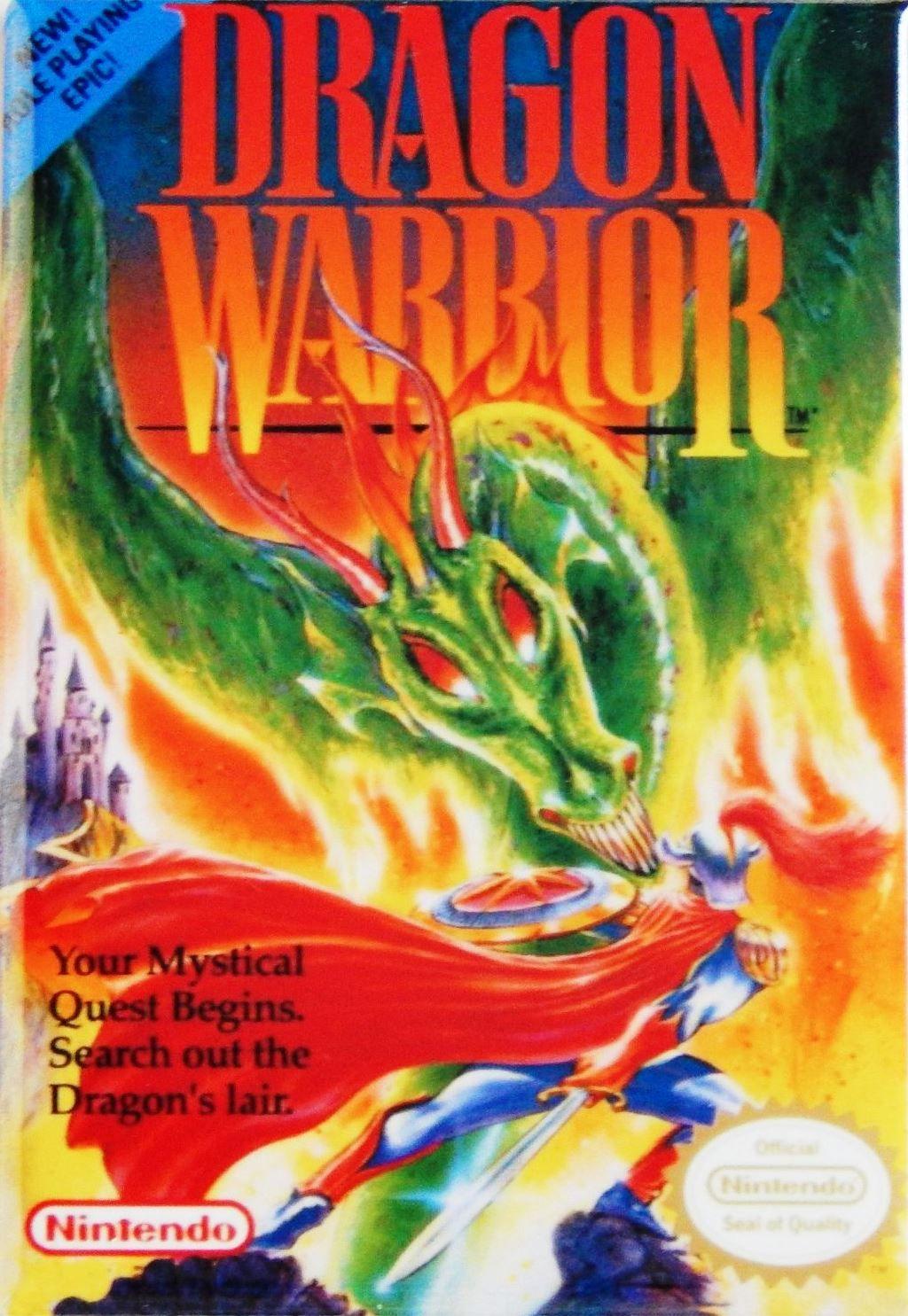 Dragon Warrior NES Role Playing Dragon warrior, Dragon