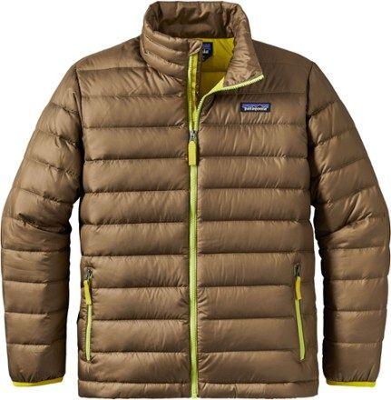 61d7605c Patagonia Boy's Down Sweater Jacket Dark Ash XL | Products ...