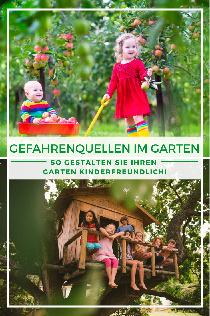 Kindgerechter Garten Sicherheit Beim Spielen Und Toben Kinder Garten Gestalten