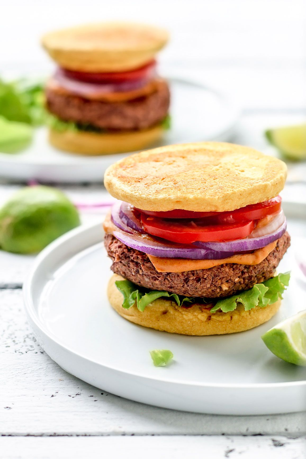Chickpea Flour Red Bean Burgers