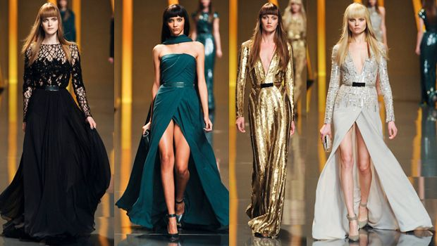 I love every single item in Elie Saab's collection. One of the most beautiful lines ever...
