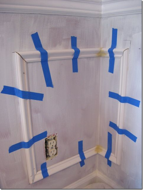 How to install picture frame molding picture frame molding diy picture frame molding solutioingenieria Images