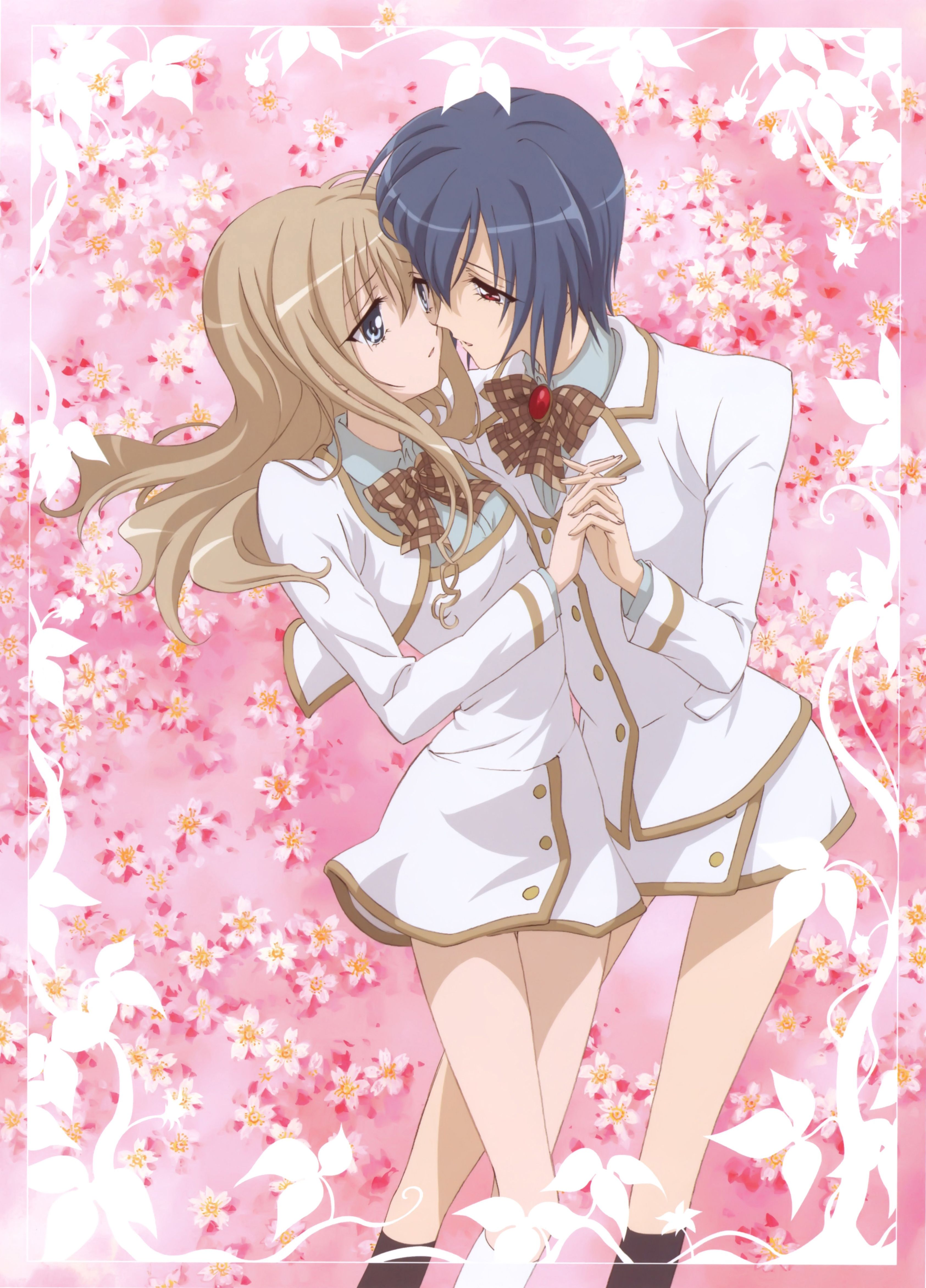 Hikari and Amane from Strawberry Panic | ☆Anime ...