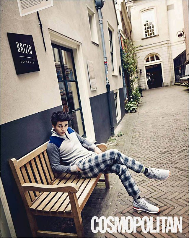 Lee Dong Wook - Cosmopolitan Magazine September Issue 13