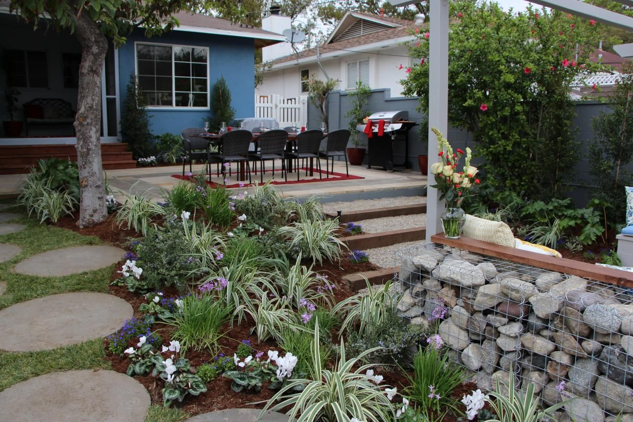 In Diy Network 39 S Series I Hate My Yard Landscape Designer