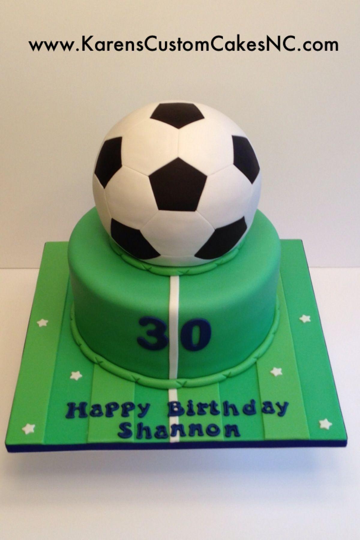 3D Soccer Ball cake All fondant Original design by The Royal
