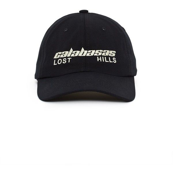 35a16ecd6 YEEZY Calabasas Lost Hills Dad Hat ( 100) ❤ liked on Polyvore featuring  accessories