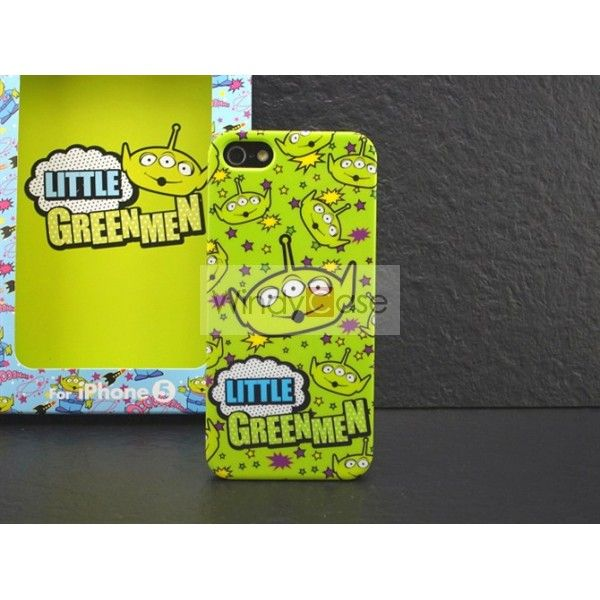 Little green men iPhone 5 case - green