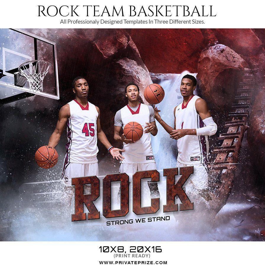 Rock Themed Sports Template Sports Photography Pinterest