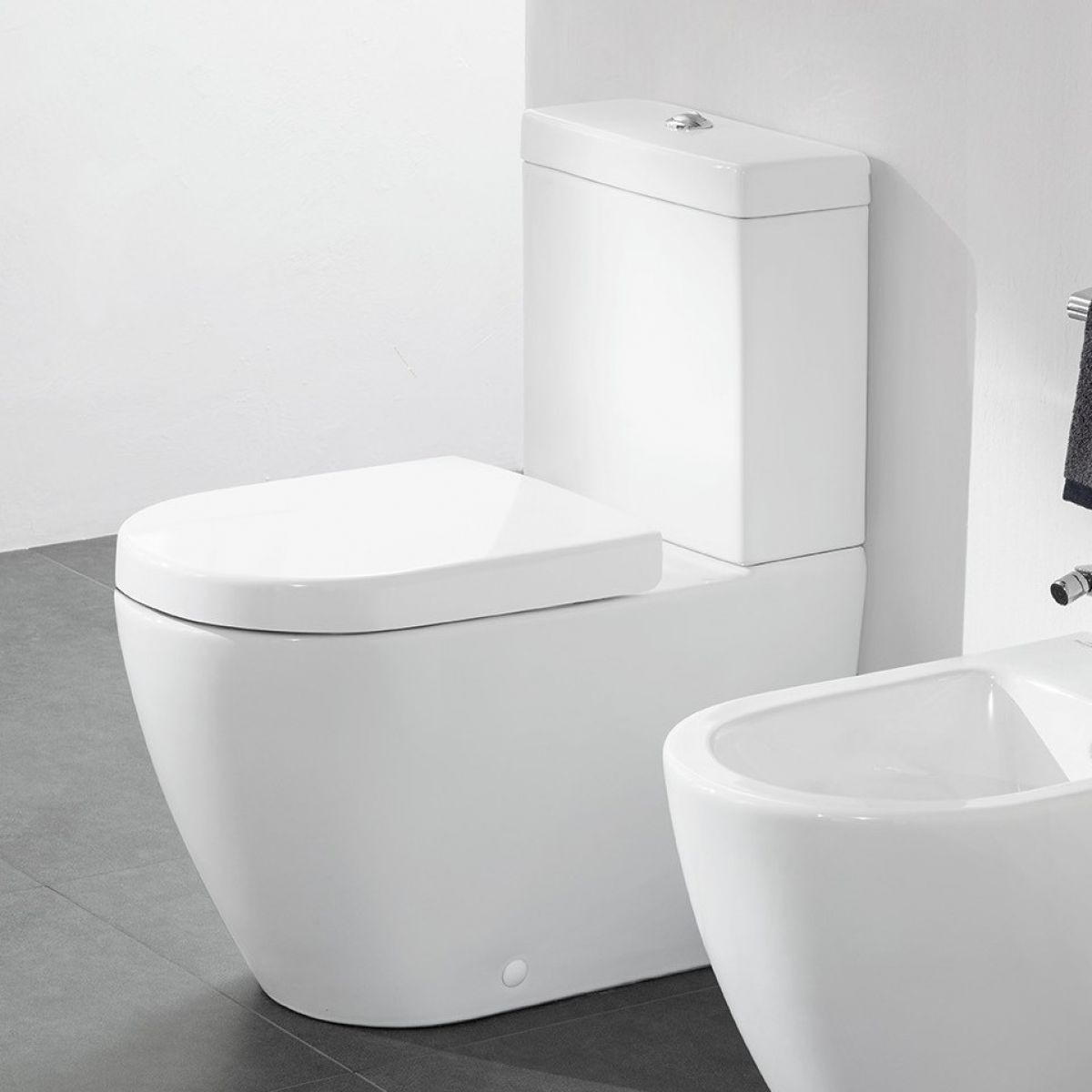 Villeroy And Boch Subway 2 0 Rimless Close Coupled Wc Close Coupled Toilets Subway Villeroy Boch