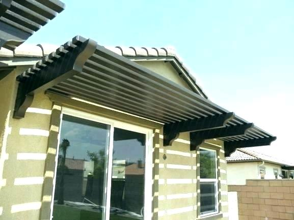 Wood Awning How To Build A Window Awnings Over Each For Sale Plans