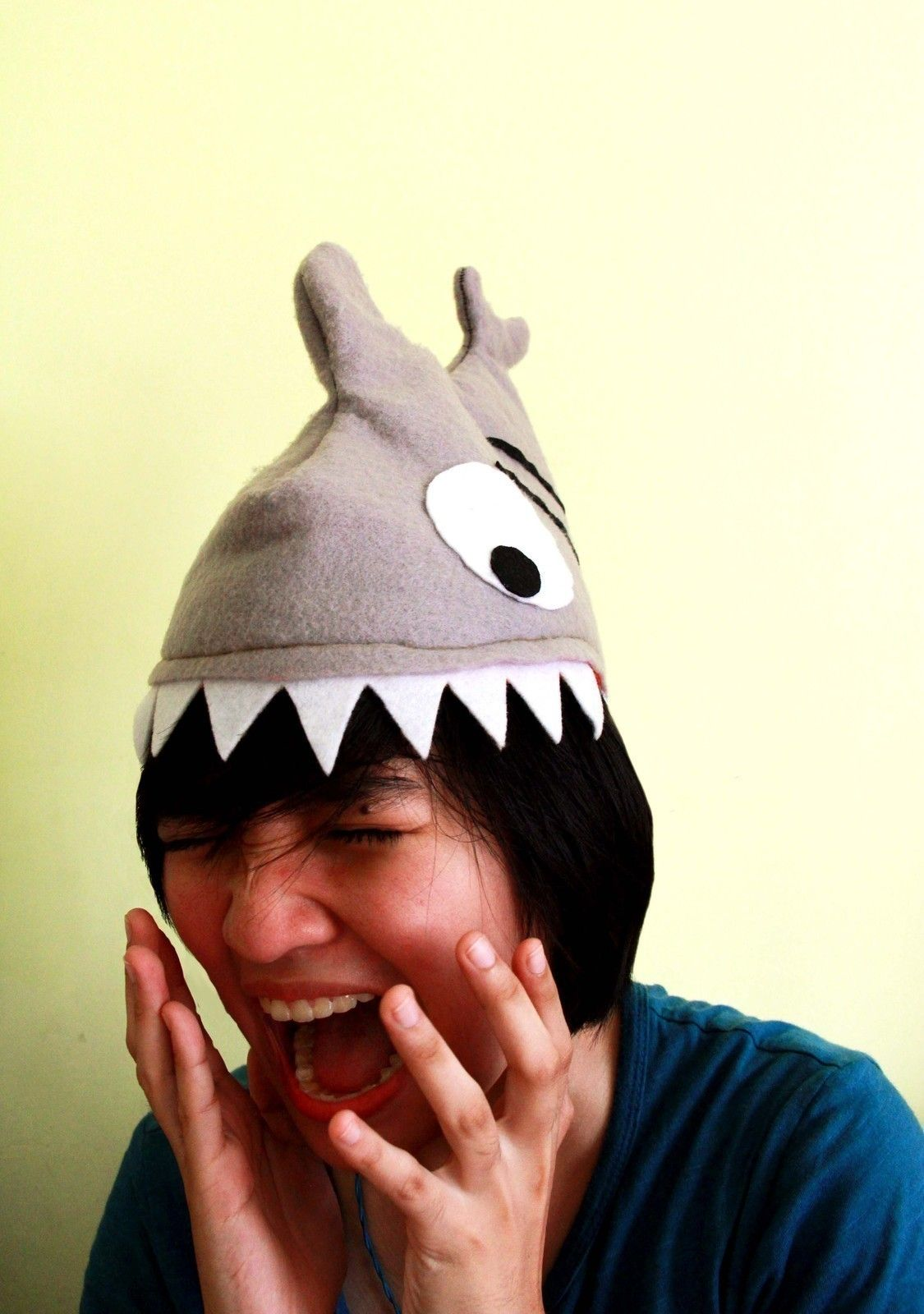 Shark Attack Hat • Make an animal hat in under 180 minutes